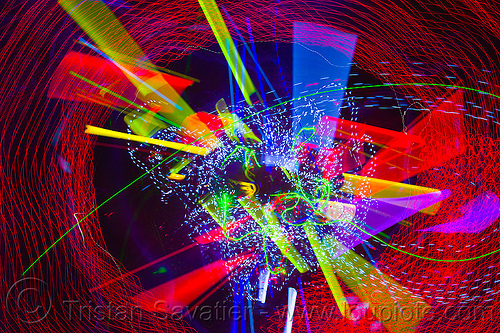 happy new year 2012, abstract, club, color lights, disco lights, led lights, long exposure, new years eve 2011, night, nye, opel, opulent temple, strobes