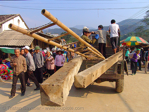 heavy load - vietnam, bảo lạc, hill tribes, indigenous, people