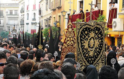 hermandad de los servitas - semana santa en sevilla, andalucía, capirotes, cofradía, easter, nazarenos, parade, people, procesión, procession, religion