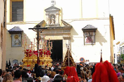hermandad de san bernardo - semana santa en sevilla, andalucía, capirotes, cofradía, easter, nazarenos, parade, people, procesión, procession, religion