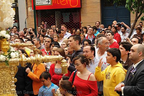 hermandad de san bernardo - semana santa en sevilla, andalucía, capirotes, cofradía, easter, hermandad de san bernardo, nazarenos, parade, procesión, procession, religion, semana santa, sevilla