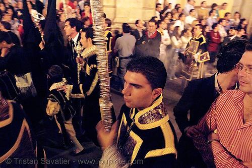 hermandad del museo - semana santa en sevilla, andalucía, candles, cofradía, easter, el museo, hermandad del museo, night, parade, procesión, procession, religion, semana santa, sevilla