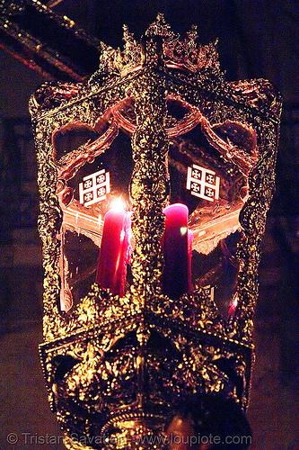 hermandad del silencio - semana santa en sevilla, andalucía, candles, cofradía, easter, el silencio, hermandad del silencio, night, parade, procesión, procession, religion, semana santa, sevilla