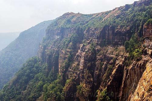 high cliffs near cherrapunji - east khasi hills (india), cherrapunjee, cherrapunji, cliff, east khasi hills, meghalaya, mountains, sohra