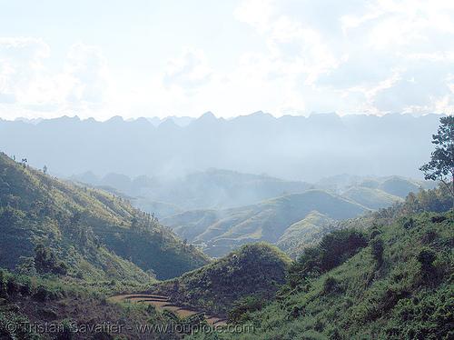 hilly landscape - vietnam, hills, hilly