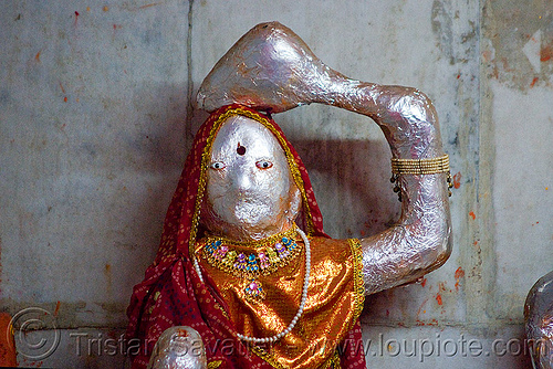 hindu deity (india), pushkar, statue