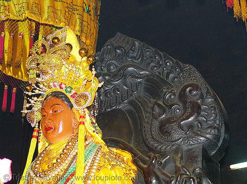 hindu deity - po nagar cham towers (nha trang) - vietnam, cham temples, cham towers, hindu deity, nha trang, po nagar