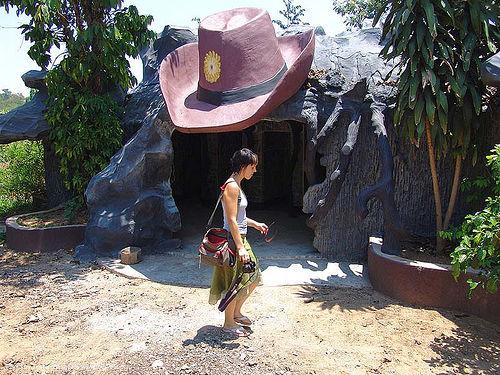 hindu park near phu ruea, west of loei (thailand), anke rega, hindu, hinduism, phu ruea, woman, ประเทศไทย
