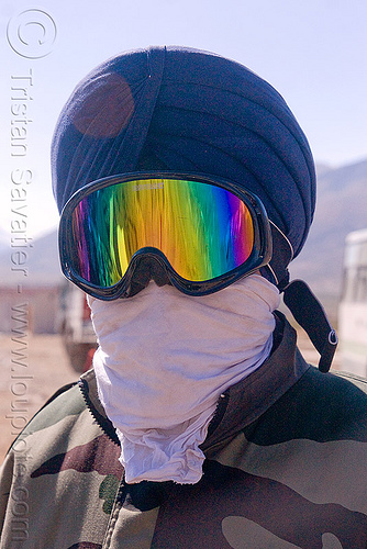 indian sikh military personel at sarchu - manali to leh road (india), goggles, headdress, india, indian army, ladakh, man, military, mirror sunglasses, rainbow colors, sarchu, scarf, sikh, sikhism, soldier, turban