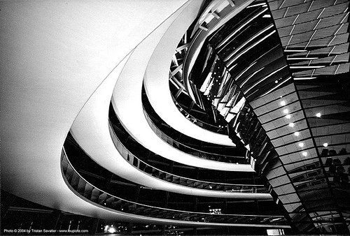 inside the reichstag dome - berlin, berlin, dome, inside, interior, modern architecture, reichstag
