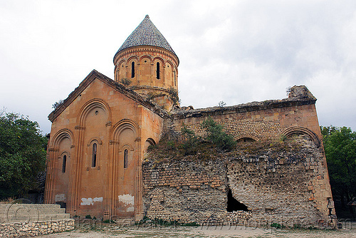 Işhan monastery - georgian church ruin (turkey), byzantine architecture, georgian church ruins, ishan church, ishan monastery, işhan, orthodox christian