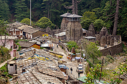 jageshwar temples (india), hinduism, village