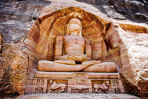 jain temple - gwalior (india), caves, gwalior, india, jain temple, jainism, rock-cut, sculptures, statue, tirthankaras