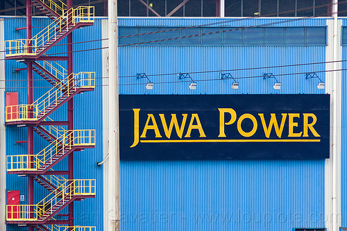 jawa power powerplant (java), coal fired, electricity, energy, factory, indonesia, paiton complex, power generation, power station, sign, stairs