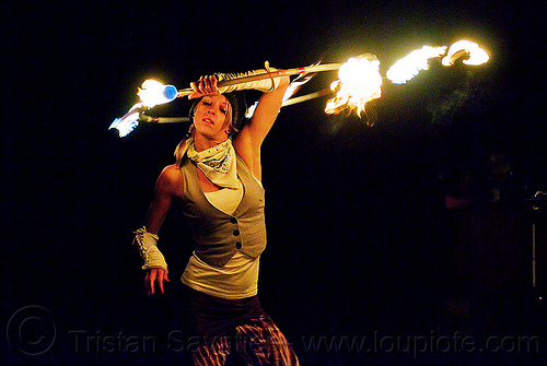 joanna with fire hoop, fire dancer, fire dancing, fire hoop, fire performer, fire spinning, hula hooper, hula hooping, hulahoop, joanna, night, white bandana, white bandanna, woman