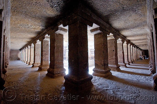 kailash temple - monolithic hindu temple - ellora caves (india), columns, ellora caves, hindu temple, hinduism, india, kailash temple, monolithic, rock-cut, कैलास मन्दिर