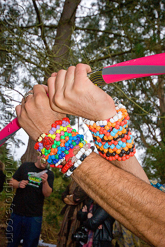 kandi and hula hoop, beads, bracelets, clothing, fashion, hands, hula hoop, kandi cuffs, kandi kid, kandi raver, party