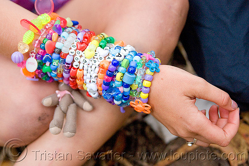 kandi bracelets, arm, beads, bracelets, clothing, fashion, hand, juliet, kandi cuffs, kandi kid, kandi raver, party, plur, woman, wrists