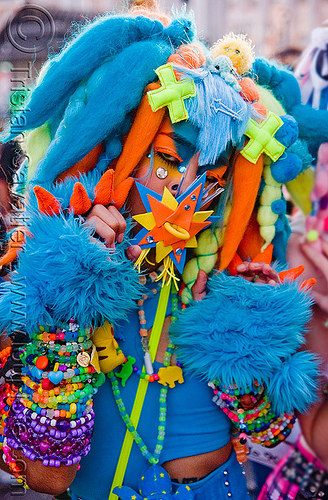 kandi kid digi monstarr in blue fuzzy outfit, beads, blue, costume, cyber fashion, cyber monster, digi monstarr, dreadfalls, festival, furry, fuzzy, kandi bracelets, kandi cuffs, kandi kid, kandi raver, love fest, lovevolution, neon color, outfit, plur