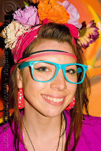 kandi kid girl - rave fashion, fashion, kandi kid, kandi raver, nadia, oakland, party, sand by the ton, woman