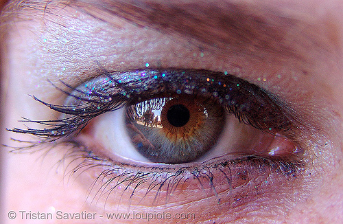 karena's eye, close up, eye color, eyelashes, hazel, iris, karena, macro, mascara, pupil, right eye, woman