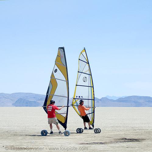 landsailing (black rock desert, nevada), black rock desert, landboard, landsailing, playa, sailing, speedsail, speedsailing, windsurf, windsurfers, windsurfing