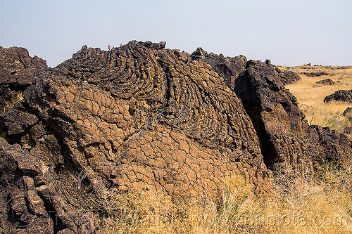 lava ripples in old lava flow, basalt, lava beds national monument, lava flow, lava ripples, rock formation, volcanic
