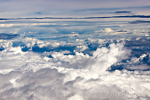 layers of clouds, clouds, layers, meteorology