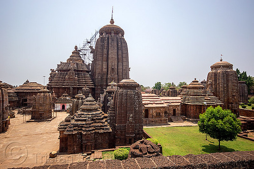 lingaraja temple - bhubaneswar (india), bhubaneswar, hindu temple, hinduism, lingaraj temple, lingaraja temple