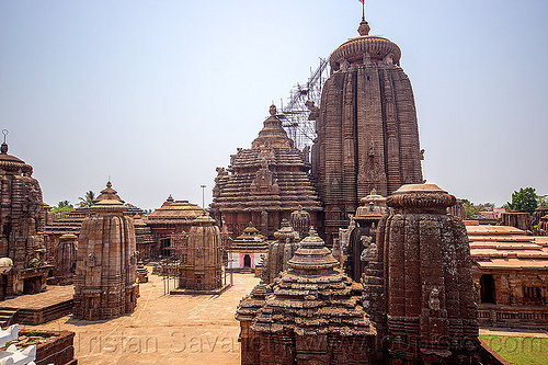 lingaraja temple in bhubaneswar (india), hindu temple, hinduism, lingaraj, lingaraj temple