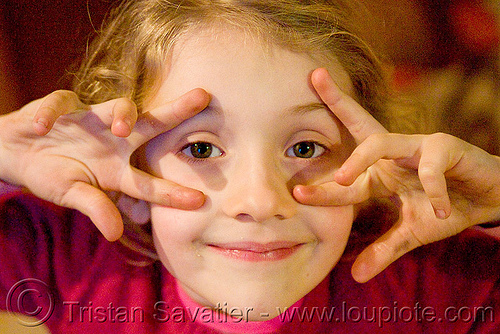 finger mask, apolline, blonde, child, kid, little girl, making faces