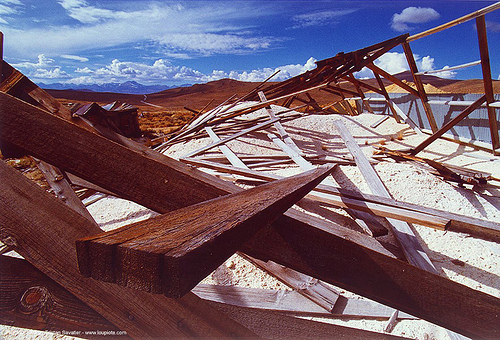 lumbers in ruin of gold mine -, beams, bodie, ghost town, gold mine, lumbers, timber, trespassing