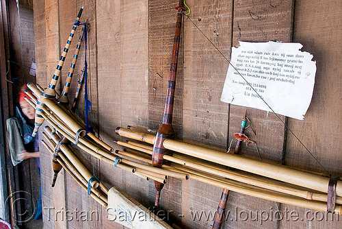 lusheng - H'mong musical instruments (laos), hmong, qeej
