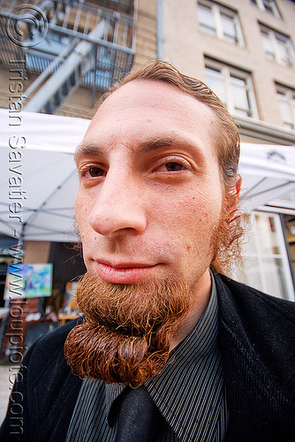 goatee - beard, festival, how weird festival, man, people
