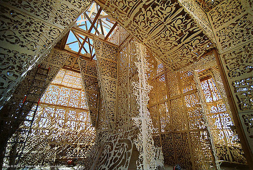 mausoleum - burning-man, art installation, burning man