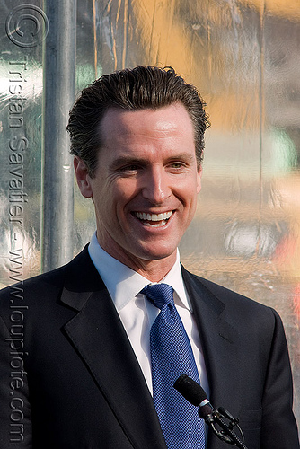 mayor gavin newsom - san francisco, gavin newsom