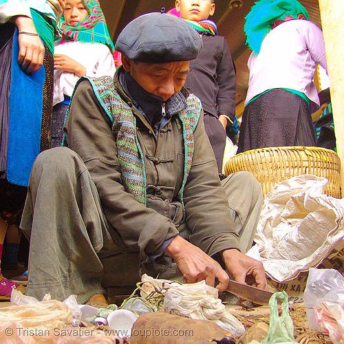 medicine man - vietnam, healer, healing, hill tribes, indigenous, market, medicine man, mèo vạc, vietnam shaman