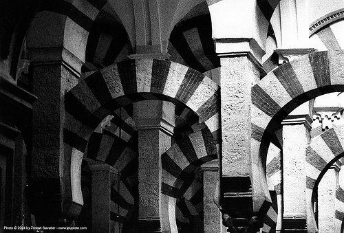 mezquita of cordoba, andalucía, architecture, cordoba, córdoba, islam, mezquita, mosque, religion, vaults