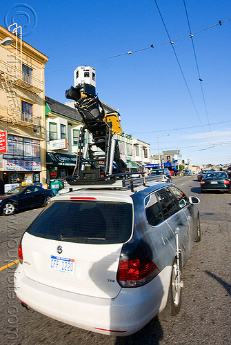 mobile mapping car, 360 degree camera, 3d sensors, big brother, car, digital mapping, gnss, gps, hardware, ip-s2, ladar, lidar, microsoft bing, mobile data collection vehicle, mobile mapping, navteq, remote sensors, scanners, street view, topcon