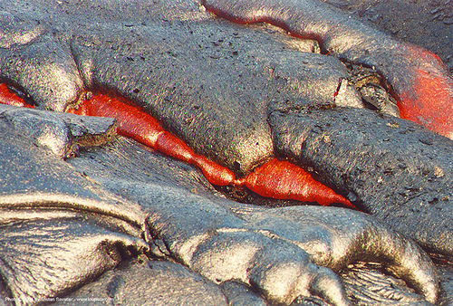 molten lava, dangerous, hawaii, hot lava, lava flow, molten lava, volcano national park