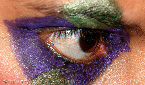 monika's eyes are intense!, bohemian carnival, close up, eye color, iris, macro, makeup, pupil, right eye, woman