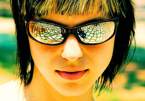 motoko kusanagi - anke rega, cross-processed, dxpro, people, sunglasses, woman, ประเทศไทย