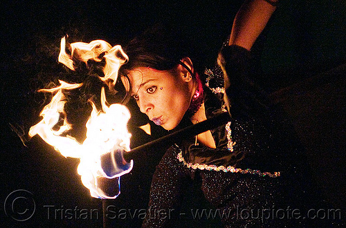 mumu spinning fire staffs, fire dancer, fire dancing, fire performer, fire spinning, fire staffs, fire staves, flames, mumu, night, woman