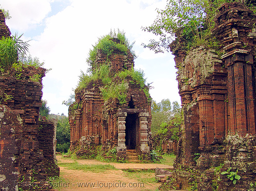 Mỹ Sơn cham sanctuary (hoi an) - vietnam, cham temples, cham towers, hindu temple, hinduism, my son, mỹ sơn, ruines, sanctuary