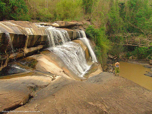 น้ำตกชาติตระการ - namtok chat trakan - pakrong waterfall - thailand, cascade, falls, nam tok chat trakan, water, น้ำตกชาติตระการ, ประเทศไทย