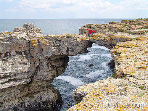natural arch - natural bridge - black sea (bulgaria), black sea, natural arch, natural bridge, susi, tyulenovo