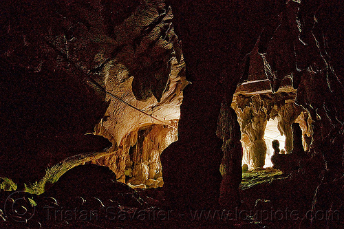 natural cave - gunung mulu national park (borneo), backlight, borneo, cave formation, caving, clearwater cave system, columns, concretions, gunung mulu national park, malaysia, natural cave, speleothem, spelunking, stalactites, turtle cave