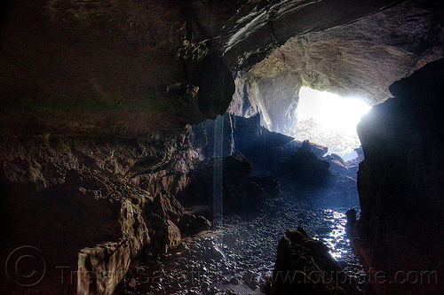 natural cave shower in deer cave - mulu (borneo), backlight, caving, deer cave, gunung mulu national park, natural cave, shower, spelunking, water