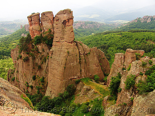 near-belogradchik - red rock cliffs (bulgaria), belogradchik, cliffs, red rocks, rock walls, българия