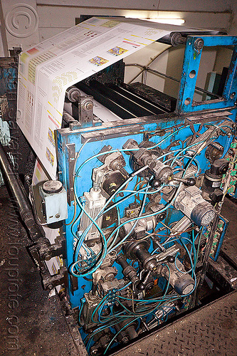 offset press, lucknow, machine, offset press, print shop, printed paper, printing press